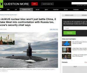 AUKUS将在太平洋深处部署核潜艇 既针对中国 也针对俄罗斯!