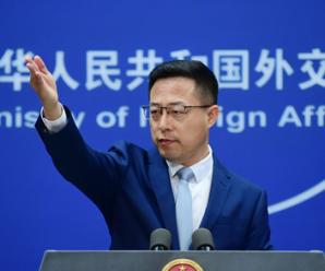 """外交部发布""""美国干预香港事务、支持反中乱港势力事实清单"""""""